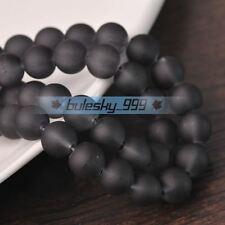 Wholesale 4mm 6mm 8mm 10mm Jelly Like Round Crystal Glass Loose Spacer Beads