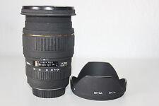 Sigma 24-70mm f/2.8 DG ex lente para Canon