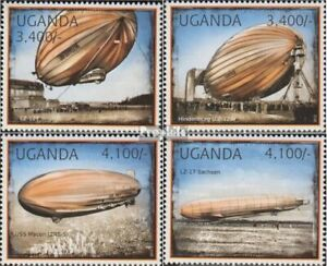 uganda 2916-2919 (complete issue) unmounted mint / never hinged 2012 Airships