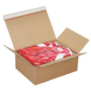 Boxes Stencil Shipping Closure Adhesive Fastpac 30,5 x 21,5 x14-22 CM Int