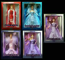 Collector Edition 2000 2001 2002 2003 Lavender Redhead Barbie Doll Holiday 5