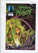 """WARRIORS OF PLASM #1 """"SIGNED BY MIKE WITHERBY"""" (9.2)!"""