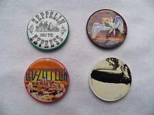 New Lot of 4 Vintage LED ZEPPELIN Casino Poker Chips Swan Song Zep 1 Earls Court