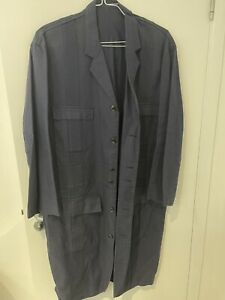 Yohji Yamamoto Navy Colour Pour Homme Coat