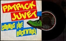"""PATRICK JUVET - Sounds Like Rock 'N' Roll / On With - SPAIN SG 7"""" Barclay 1980"""