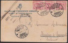AA5058 Avvocato FRANCESCO EBNER - Ceraso - Cartolina pubblicitaria - Postcard