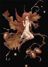 Acorn Fairy Counted Cross Stitch Kit Fantasy