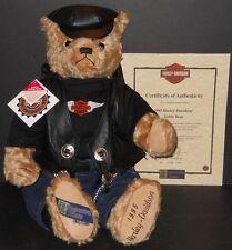 NEW! MIB COOPERSTOWN LTD ED HARLEY-DAVIDSON TEDDY BEAR