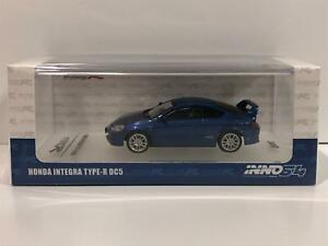 Honda Integra Type R DC5 Blue 1:64 Scale Inno Models