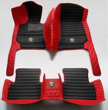 For Alfa Romeo Giulia Stelvio Liner Luxurious Custom Waterproof Car Floor Mats