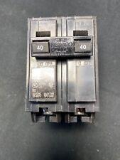Square D Homeline 40 Amp Double Pole Breaker