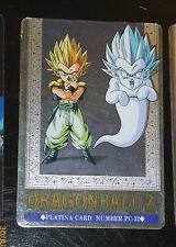 DRAGON BALL Z DBZ HERO COLLECTION 3 PLATINA CARD PRISM CARTE PC-32 JAPAN G+>EX+