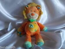 Doudou lion orange, Nicotoy, Blankie/Lovey/Newborn toy