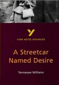 A Streetcar Named Desire (York Notes Advanced) by Sambrook, Hana Paperback Book