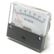 Analog Panel Meter, 0 - 150 Volt AC, 2.75 inch
