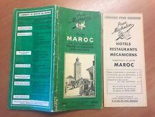 Guide Michelin Maroc 1950