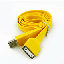 Flat Connector Charging USB Data Cable For Apple iPod Nano 4th Generation Video