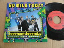 """DISQUE 45T DE HERMAN'S HERMITS  """" NO MILK TODAY """" SERIE DANCE FOR EVER"""