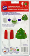 Christmas Tree & Present Marshmallow Pop Mold from Wilton  #1797 - NEW