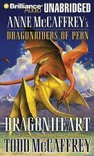 DRAGONHEART unabridged audio book CD by ANNE McCAFFREY - Brand New 17 CDs 20 Hrs