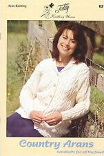 621 Country Arans Knitting Book