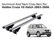 Aluminium Roof Rack Cross Bars fits Holden Cruze YG Hatch 2002-2006
