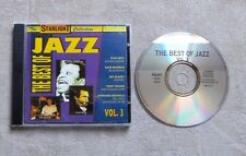 "CD AUDIO MUSIQUE / THE BEST OF JAZZ VOL. 3 (TEDDY WILSON, STAN GETZ)"" CD COMPIL"