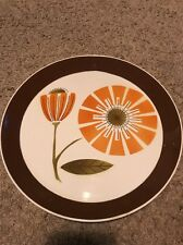 Vintage MIKASA CHINA DUPLEX BRUNCH BEN SEIBEL CHOP PLATE  PLATTER RETRO 1970s