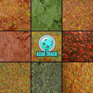 Cichlid Flake Fish Food - Malawi Tanganyikan American African Spirulina Shrimp