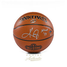 """Kyrie Irving Autographed 2017 All-Star Game Replica Basketball with """"NOLA '17"""""""