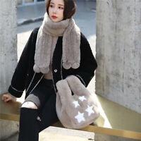 Women Fashion Tote Bags / Wristlets Bags Full-pelt Rex Rabbit Fur Shopping Bags