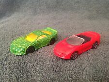 Camaro Hot Wheels Loose red green convertible Chevrolet 1:64 lot cars