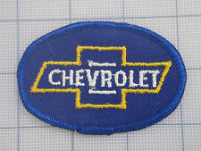Vintage  CHEVROLET  patch  car  auto  racing   van  trucker   OVAL