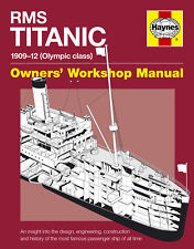 NEW HAYNES OWNERS WORKSHOP REPAIR MANUAL RMS TITANIC
