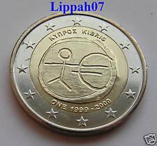 Cyprus 2 euro 10 jaar EMU 2009 UNC