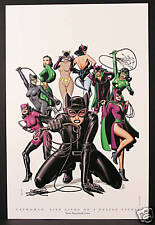 """""""Catwoman: Nine Lives of a Feline Fatale"""" Fine Art Print by Brian Bolland  New!"""