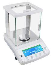 2016 New 100 x 0.0001g 0.1mg Lab Analytical Balance Digital Precision Scale