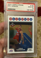 2008 Topps Chrome Eric Gordon Psa 10 Rookie Card
