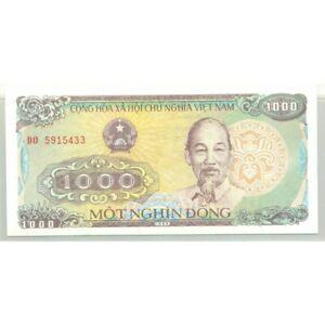 VIET NAM 1000 DONG 1988 SERIE DO NEUF