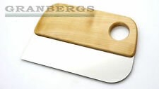 Iris Hantverk Dough Scraper 1139-00 Baking Cooking Utensil Birch Stainless Steel