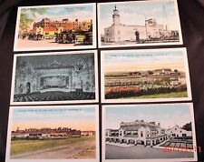 Lot of 6 White Border Shenandoah, Iowa Postcards