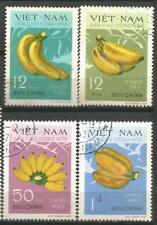 VIET NAM North Scott# 607-610 Bananas 1970