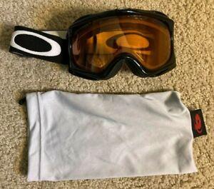 Oakley Snow Goggles Ski Snow Board Black w/bag