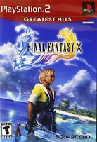 PLAYSTATION 2 PS2 #1 RPG GAME FINAL FANTASY X 10 NEW
