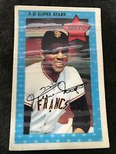 WILLIE MAYS 1971 Kellogg's 3-D Superstars #10 San Francisco Giants Hall Of Fame