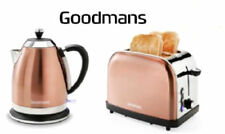 Copper Color 1.8L Kettle& 2Slice Toaster Breakfast SET-GOODMANS-DIAMOND EDITION