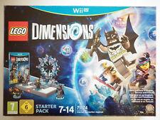 Lego Dimensions pack de démarrage Jeu Vidéo Nintendo WII U