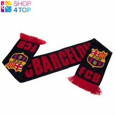 FC BARCELONA NV FAN SCARF SCARVES  OFFICIAL FOOTBALL SOCCER CLUB TEAM NEW