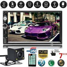 2 DIN 7'' Touch Screen Autoradio Mirror Link GPS Bluetooth MP5 Player Telecamera