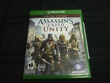 Replacement Case (NO VIDEO GAME) ASSASSINS CREED UNITY  XBOX ONE 1
